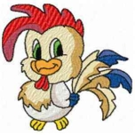 Farm Animals Rooster