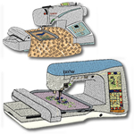 10 set Embroidery Machine