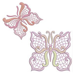 Jacobean Butterflies