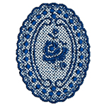 Oval Lace Design