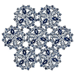 Snowflake Lace Design