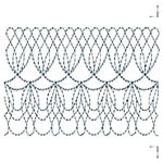 Victorian Continuous Lace Border