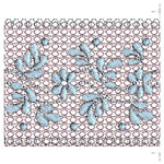 Brocaide Continuous Lace Border