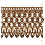 Honeycomb Continuous Lace Border