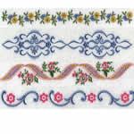 30 set Linen Borders