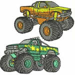 10 set Monster Trucks