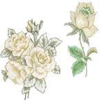 10 set Large Open Floral