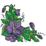 Filled Violet Corner