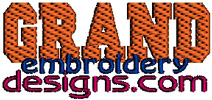 Grand Machine Embroidery Designs Logo